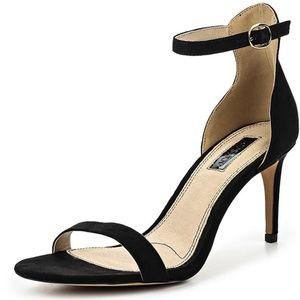Topshop Row Black Heel